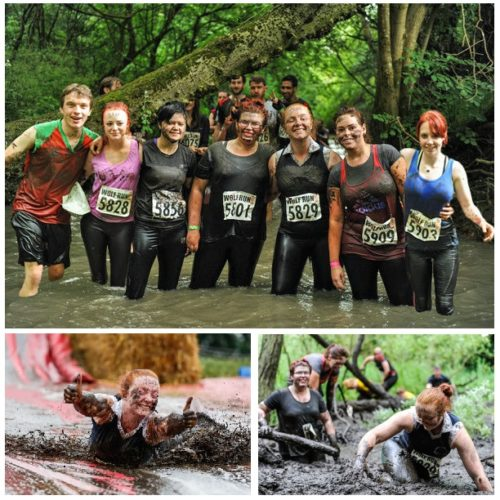 Winter Wolf Run completed by Fundraisers