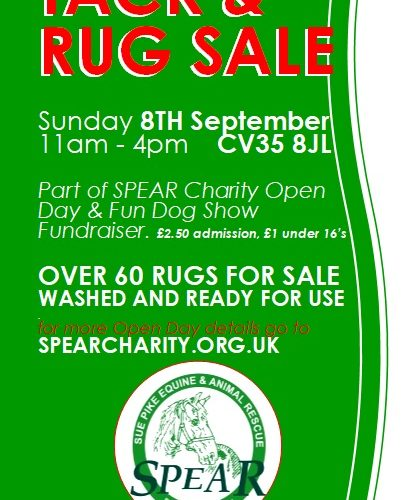 Tack and Rug Sale Poster